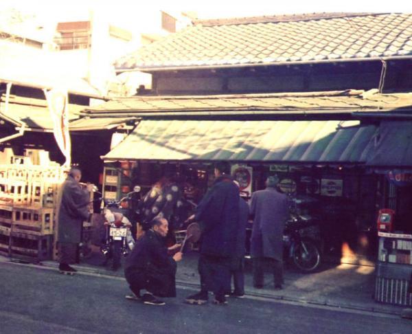 矢島酒店前お正月風景(平成18年) 寺田格郎撮影