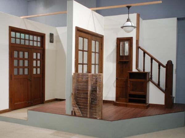 玄関・広間の復元
