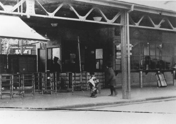 昭和11年の荻窪駅(写真提供:杉並区広報課)