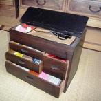 引き出し式裁縫箱(杉並区立郷土博物館 所蔵)