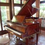 大田黒公園のピアノ