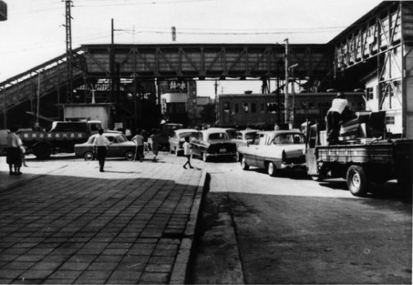 昭和37年当時の阿佐ヶ谷駅