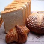 天然酵母食パンとクロワッサン、くるみと玄米のカンパーニュ