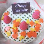 和菓子バースデーケーキ(2,100円~)