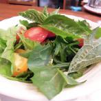 自家菜園で愛情込めて作った無農薬野菜を使用