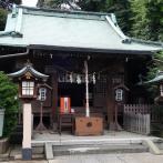 木造神明造りの拝殿