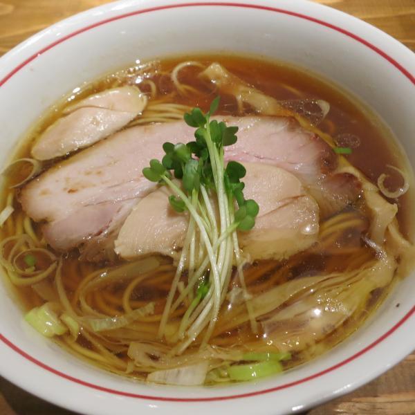 「麺尊RAGE」の軍鶏そば
