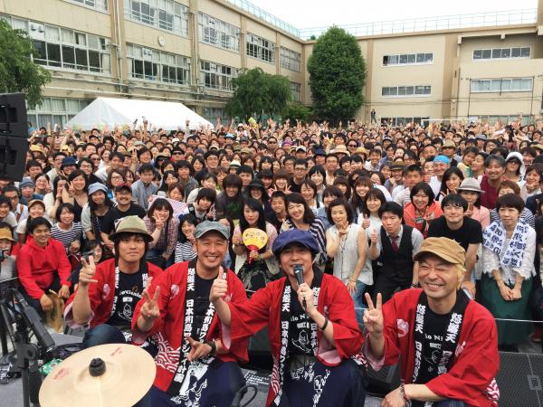 ライブには大勢のお客さんが訪れた(写真提供:増子直純さん)