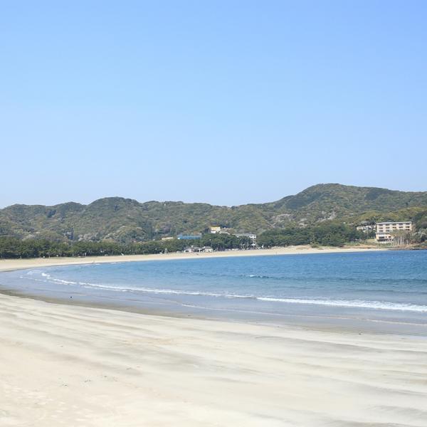 伊豆3大美浜の1つ、弓ヶ浜