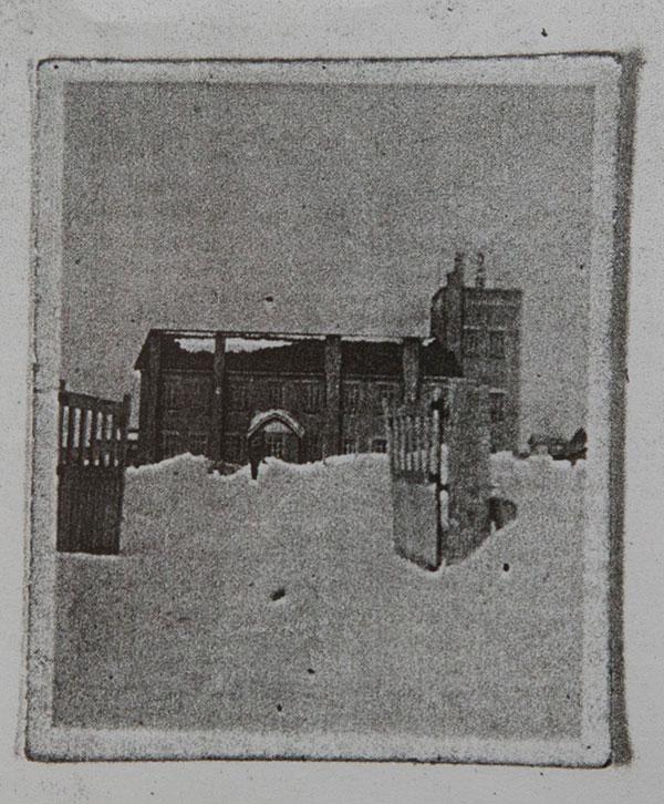 落合陸軍気象観測所(資料提供:中島邦男さん)