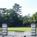 現在、荻外荘敷地の南側部分が整備され暫定開放されている