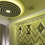 「Ten」と名付けらた3階の部屋。アーティストはRyuichi Ogino (