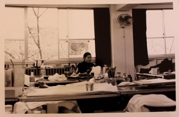 デザインを学んでいた女子美術短期大学時代