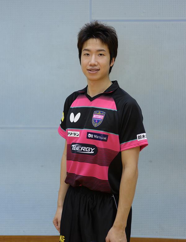 オリンピックで活躍した水谷隼選手はタマス契約選手(写真提供:株式会社タマス)