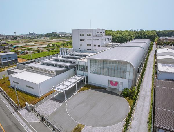 埼玉県所沢市にある、研究開発と生産の拠点「バタフライ・テック」(写真提供:株式会社タマス)