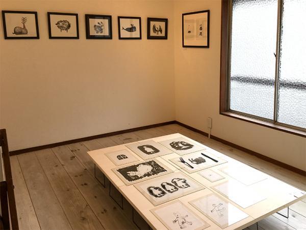 2階のギャラリー。展示のほか、定期的にトークイベントも行っている