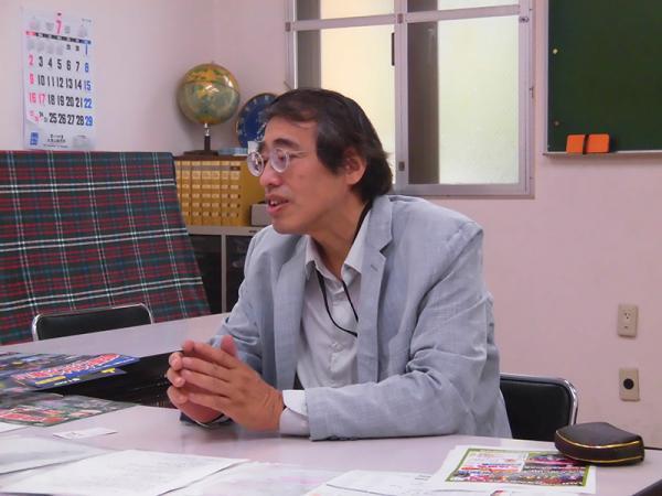 久我山連合商店会 林会長